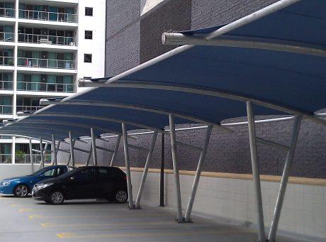 Cantilever Shade Sails