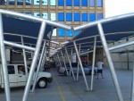 commercial shade car port