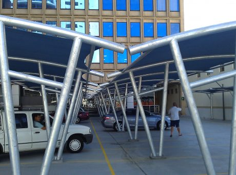 Cantilever Shade Sails