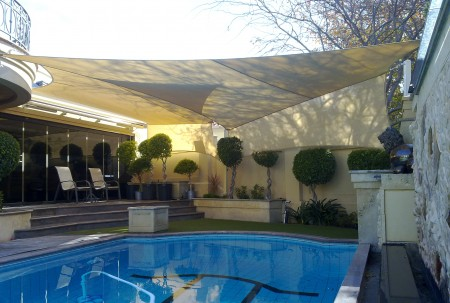 Protect Your Pool with Shade Sails