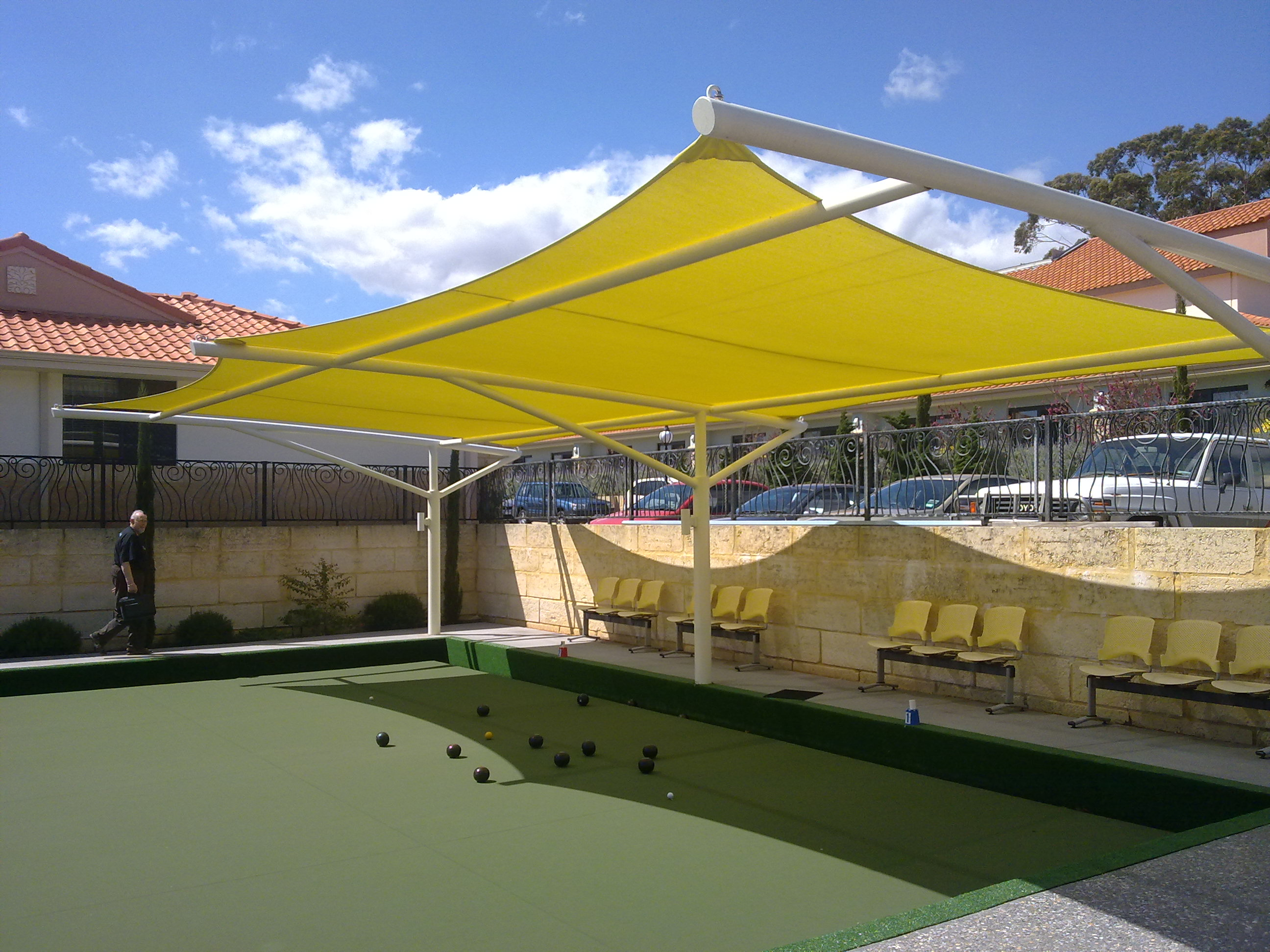 Commercial shade sails perth shade experience for Shadesails com